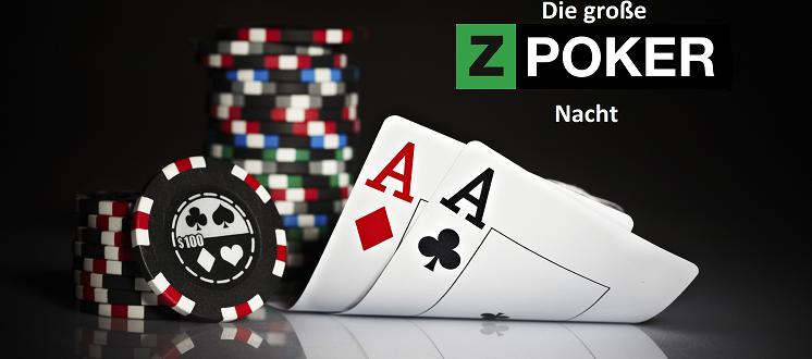 Die ZPartner Poker Nacht wird präsentiert.