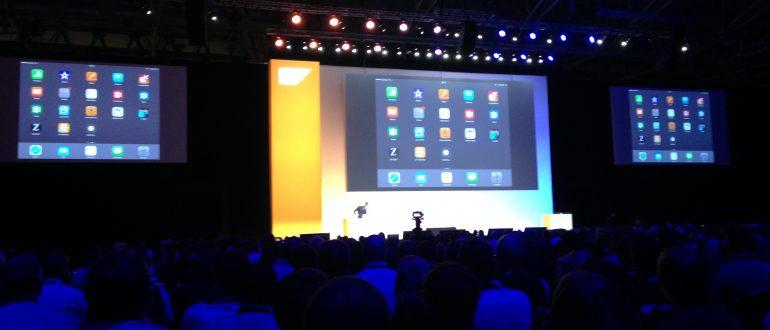 Ein Ausschnitt von TechEd Event in Barcelona.