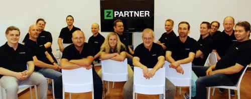 Gruppenfoto von ZPARTNER.