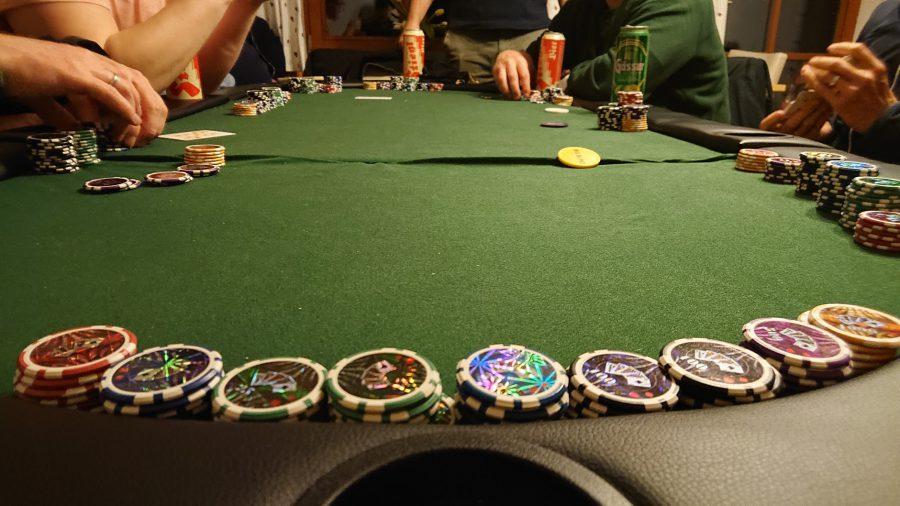 Pokerrunde in Salzburg.