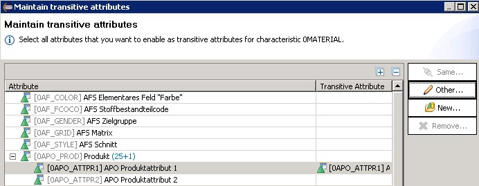 How to create transitive navigation attributes in BW Modeling Tools
