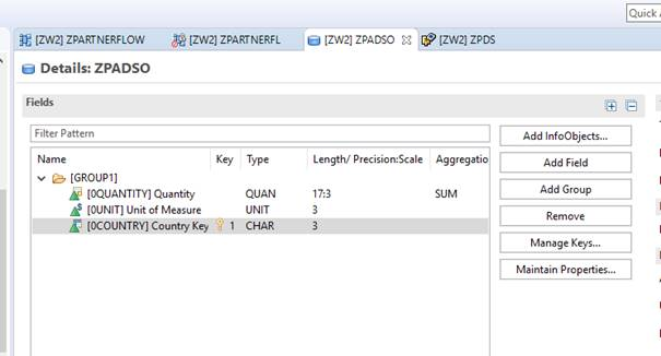 How To: Create Dataflow within BW/4HANA » ZPARTNER GmbH & Co